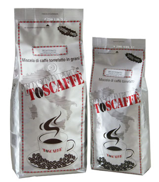 decaffeinated products