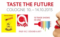 "Toscaffe exhibits at the international Anuga ""Taste the Future"""