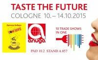 "Toscaffe exhibits at the international Anuga ""Taste the Future"""